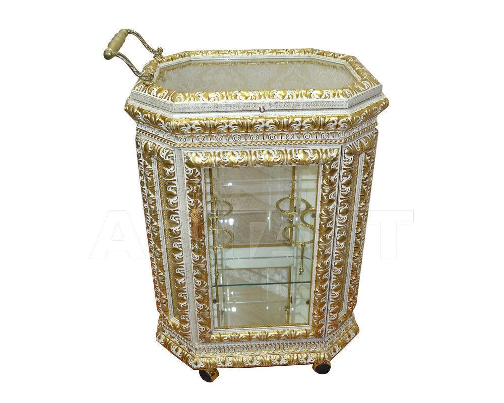Купить Стол сервировочный Italia Cornici di Caccaviello Antonino Display Cabinets 2014 Carrellino Imp. ivory