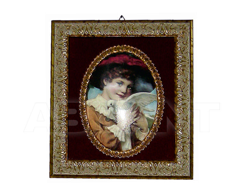 Купить Декоративное панно Italia Cornici di Caccaviello Antonino Artistic Plates PP ant.gold