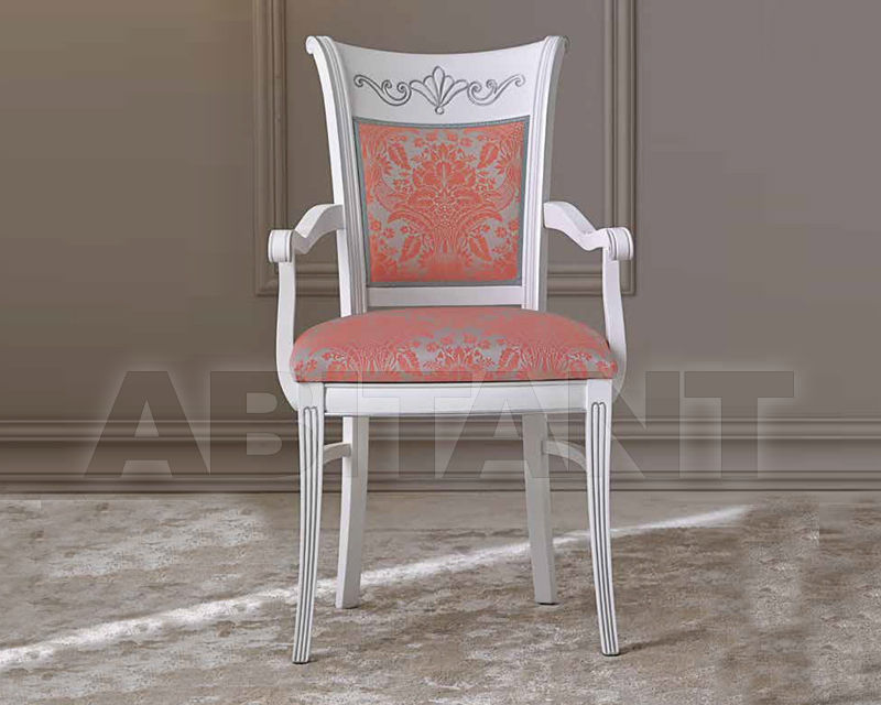 Купить Стул с подлокотниками BS Chairs S.r.l. Classico 2017 BS371A