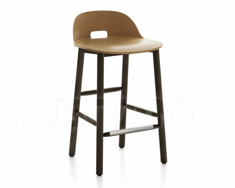Купить Барный стул Emeco Alfi by Jasper Morrison ALFI24DALSAND