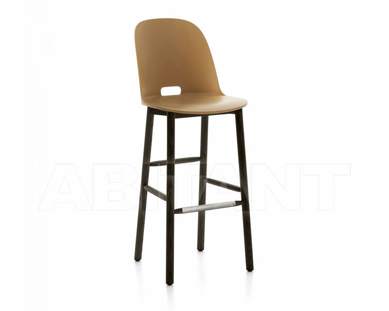 Купить Барный стул Emeco Alfi by Jasper Morrison ALFI30DAHSAND
