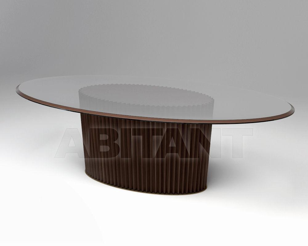 Купить Стол обеденный COLONNA Vittoria Frigerio by Frigerio Poltrone e Divani 2015 VF50944C Glass