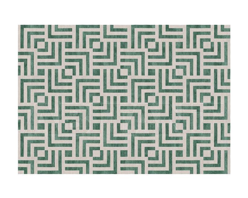 Купить Ковер современный New Rug 2018 Labyrinth Green