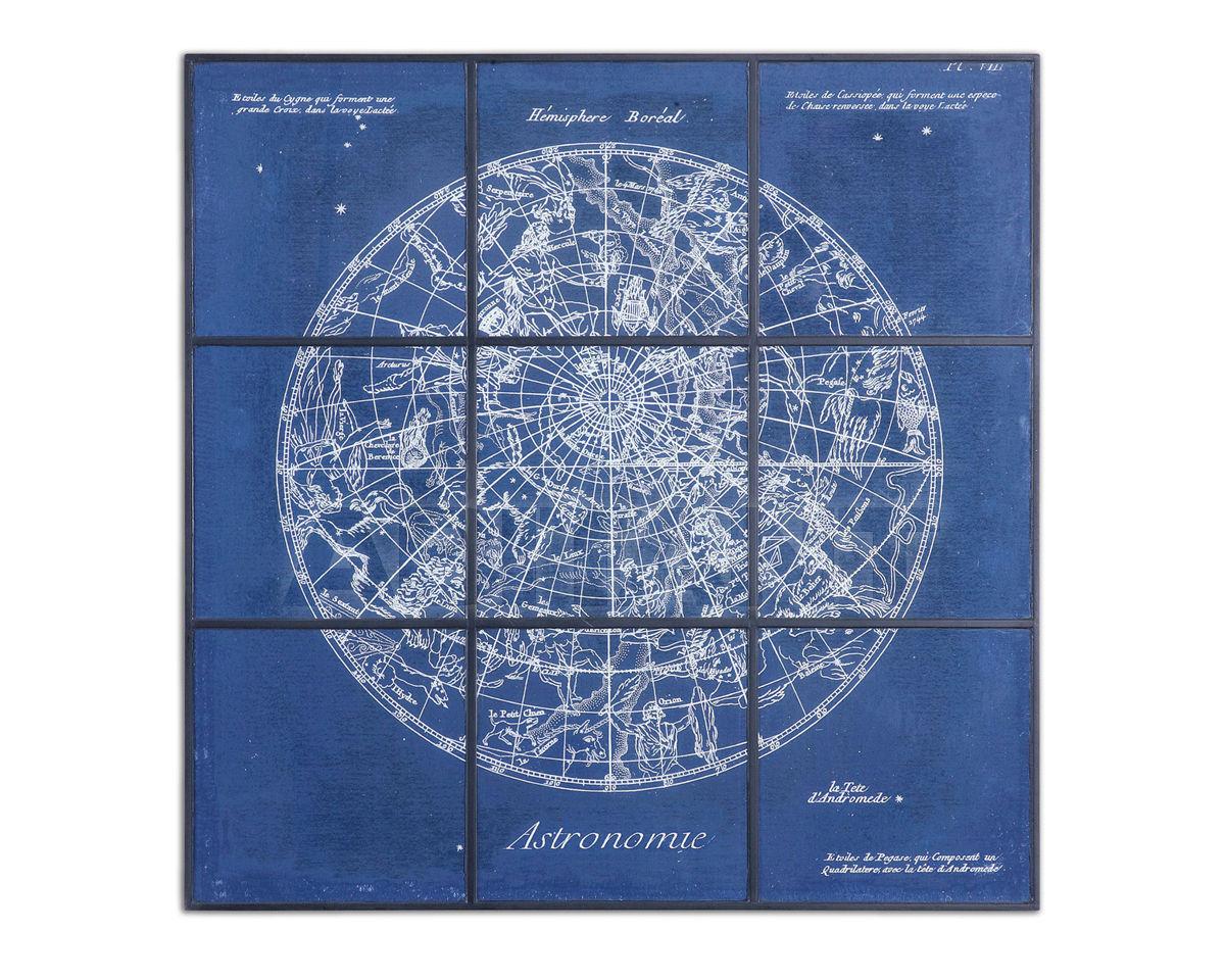 Купить Картина Astronomy Chart Framed Uttermost Art 33900