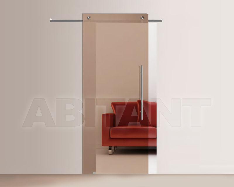 Купить Дверь стеклянная Casali Doors&Solutions Bronzo trasparente