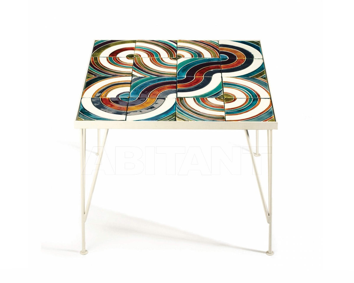Купить Столик кофейный Mambo Unlimited Ideas  2018 CALDAS Circules Multicolor top
