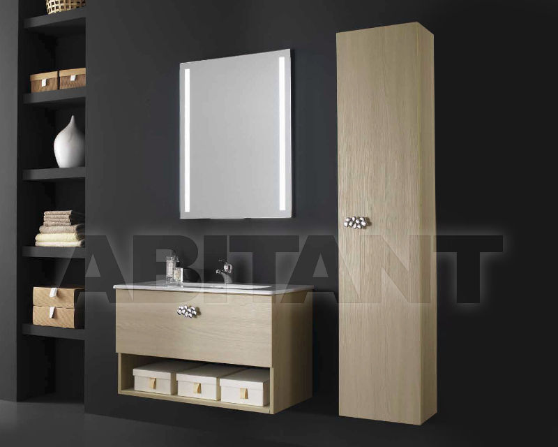 Купить Композиция Ciciriello Lampadari s.r.l. Bathrooms Collection VANESSA 80 Olmo avorio