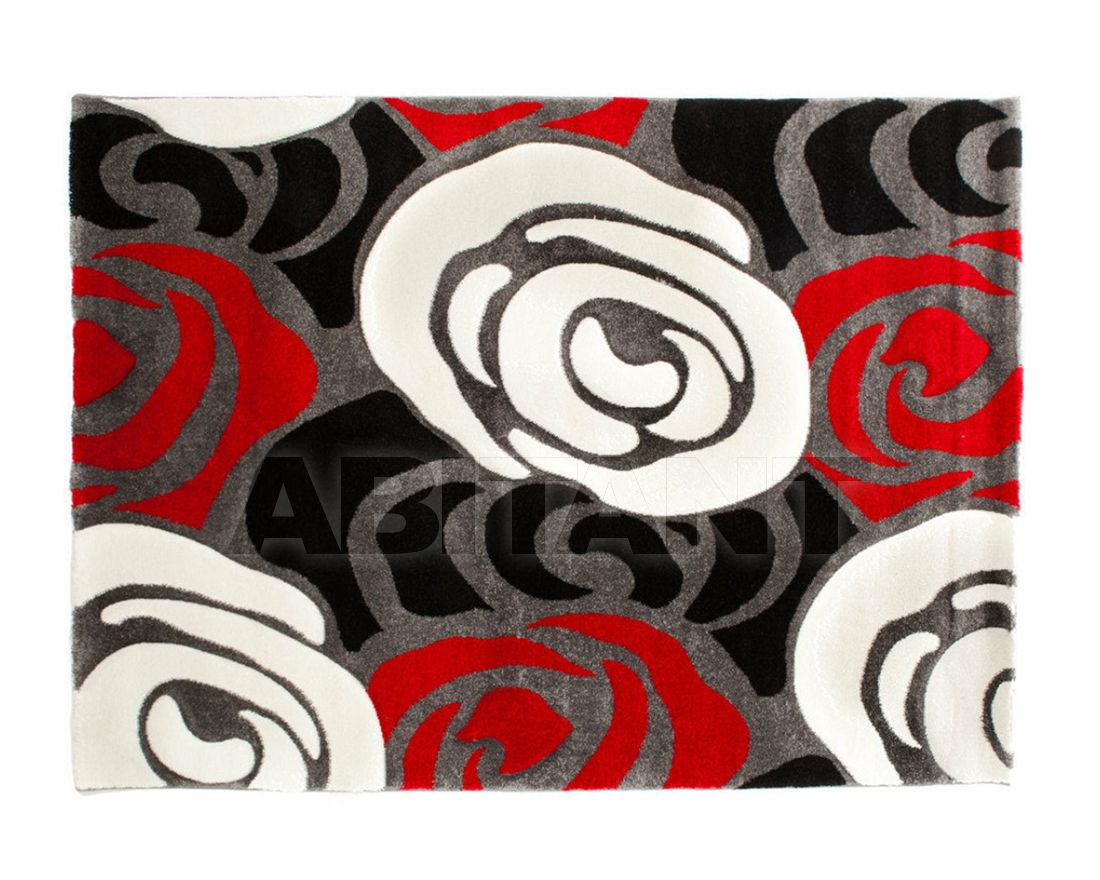 Купить Ковер современный Rose Red and Black F.lli Tomasucci  COMPLEMENTI 1629