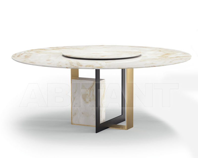 Купить Стол обеденный MOORE 4 GOLD Alberta Salotti 2019 1MO4TPR11