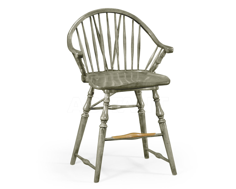 Купить Барный стул Jonathan Charles Fine Furniture Sherwood Oak 492567-CS-GYO