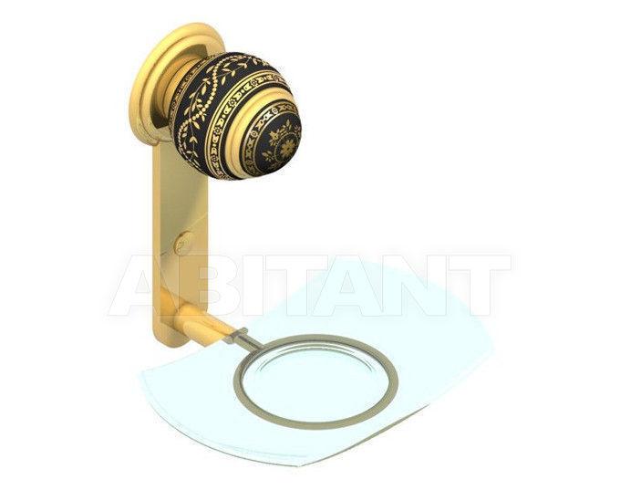 Купить Мыльница THG Bathroom A7F.500 Marquise platinum decor