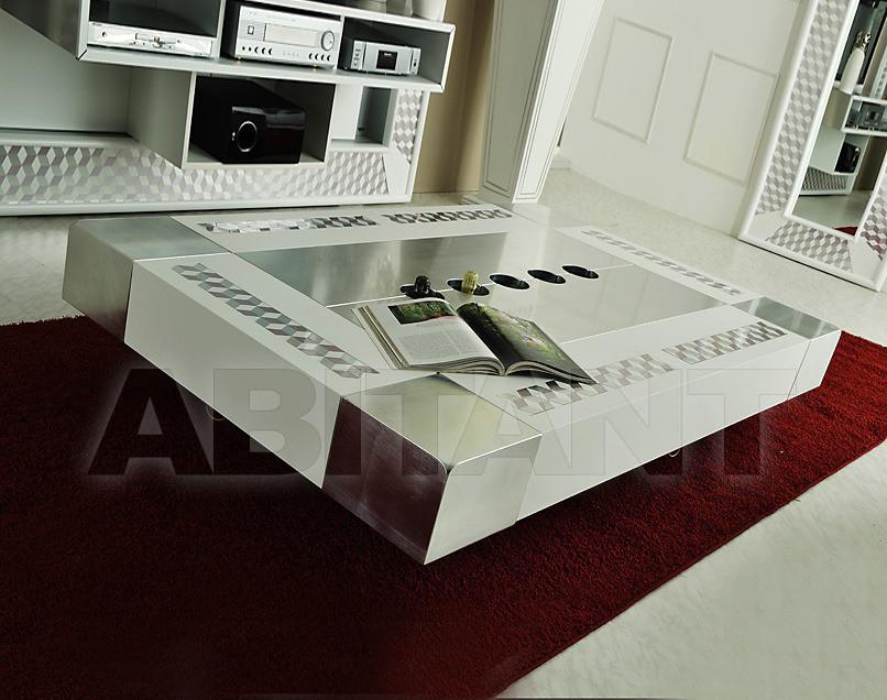Купить Столик журнальный Vismara Design Mosaik CIAIKA 170 MOSAIK ARGENTO-BIANCO