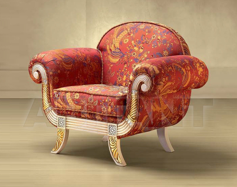 Купить Кресло Morello Gianpaolo Red 121/RK POLTRONA