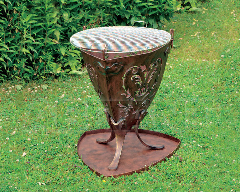 Купить Садовый камин-барбекю Robers Outdoor B8631-R B8631-S