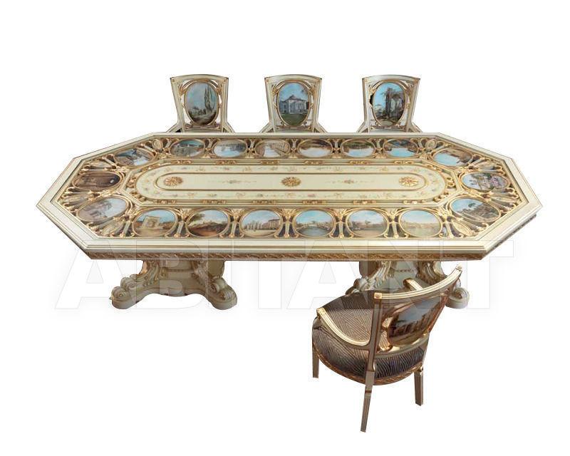 Купить Стол обеденный Galimberti Lino 2014 Gold 1765SM/T