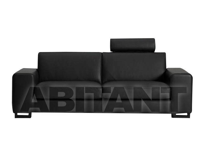 диван черный Gorini S R L Poltrone E Divani Avenue 002