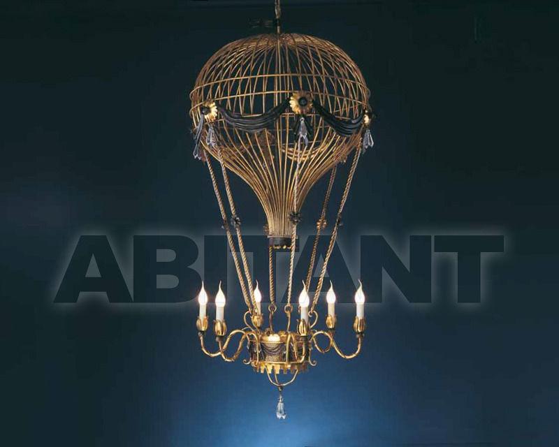 Купить Люстра Mongolfiera Effe.Bi Ferro Battuto Artistico s.r.l. Lighting L-142/GV