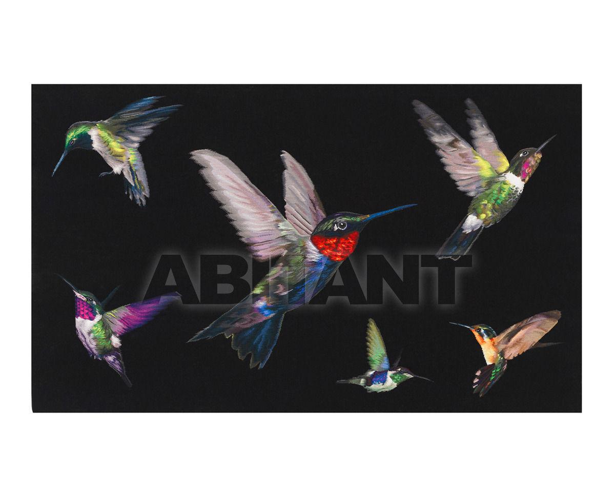 Купить Ковер современный The Rug Company Alexander Mcqueen Hummingbird Wallhanging (5' x 3')