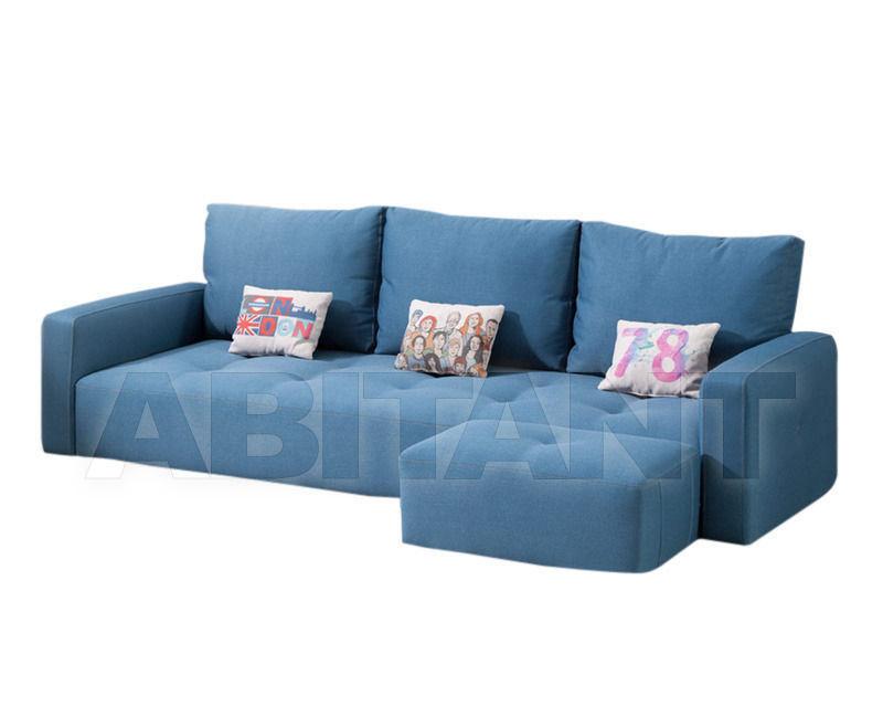 Купить Диван Fama 2014 MYLOFT A12P blue