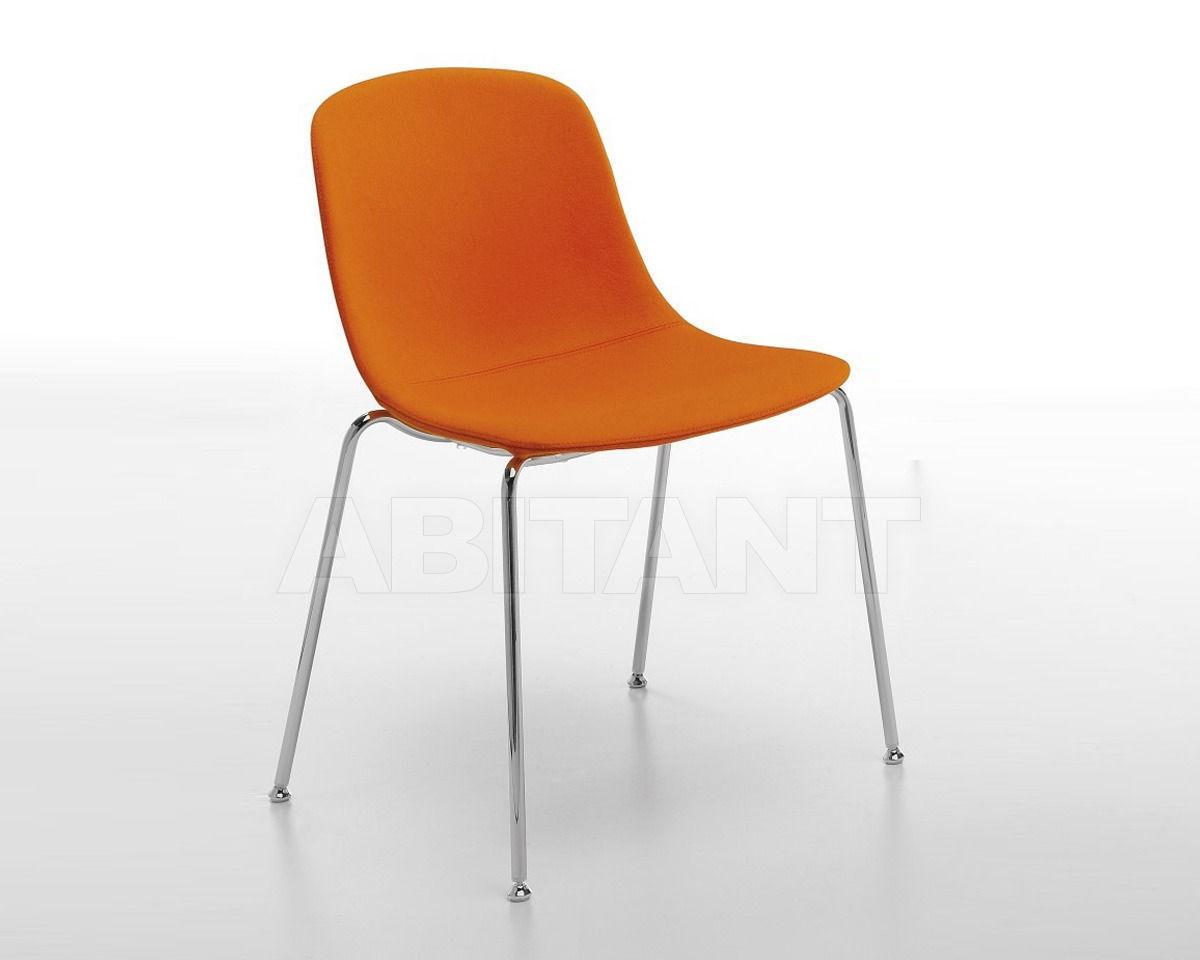 Купить Стул Infiniti Design Indoor PURE LOOP 4 LEGS UPHOLSTERED