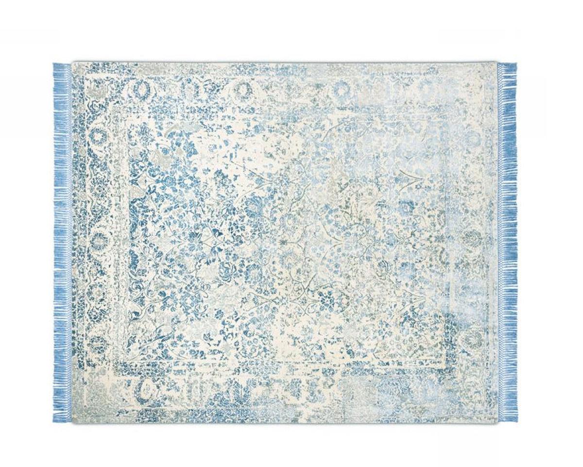 Купить Ковер современный Rug Star Persia/rajasthan Rajasthan No. 10   LightBlueGrey   SilkFringes