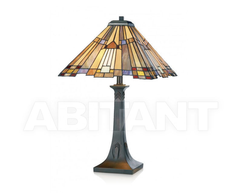 Купить Лампа настольная Artistar Tiffany TFT1619+P1619