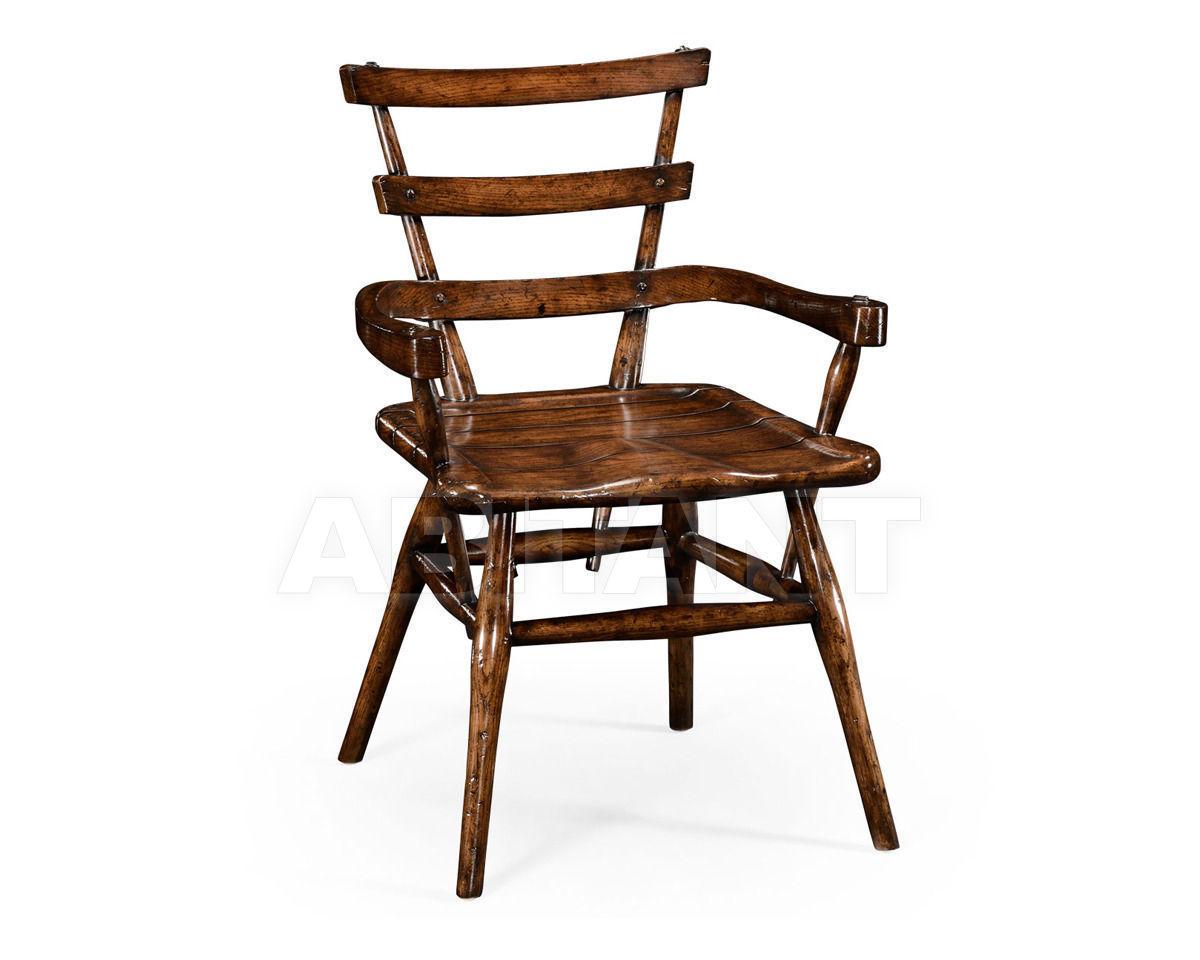 Купить Стул с подлокотниками Jonathan Charles Fine Furniture Tudor Oak 494302-AC-TDO-L003