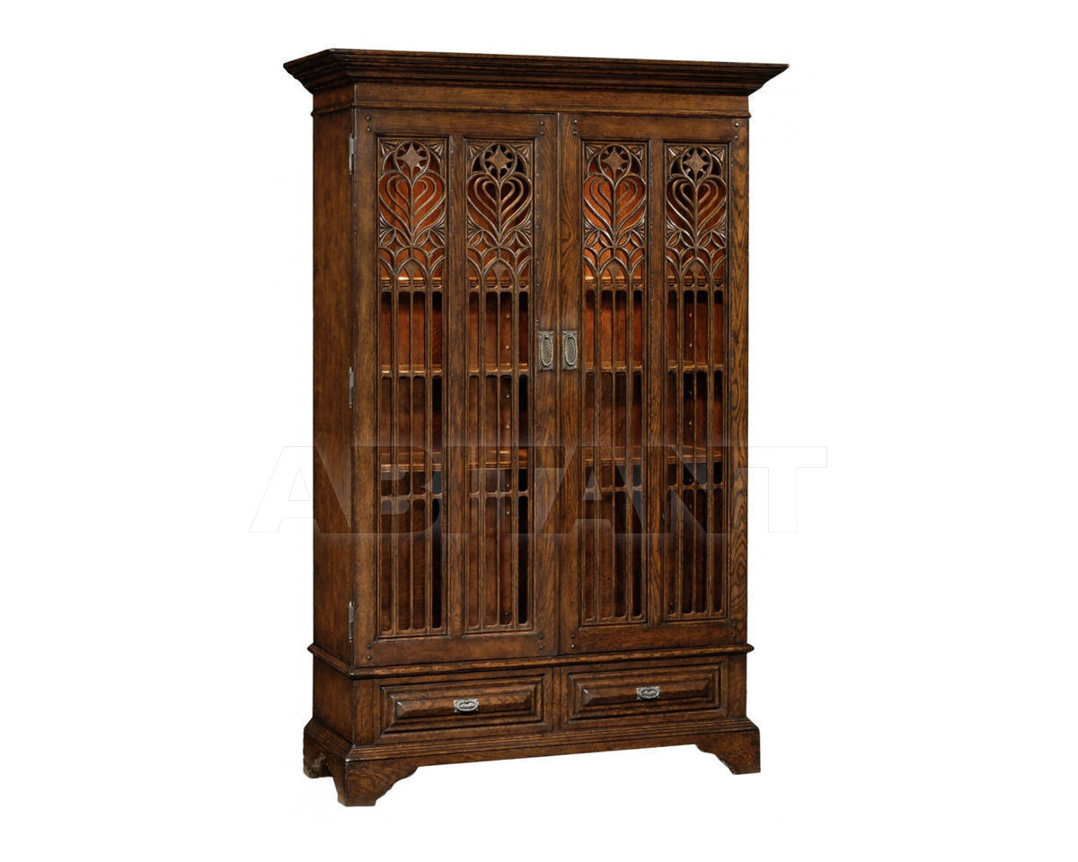 Купить Витрина Jonathan Charles Fine Furniture Tudor Oak 493739-TDO
