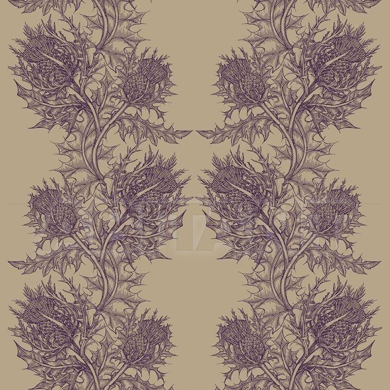 Купить Портьерная, обивочная ткань THISTLE - BEETROOT Timorous beasties Raeberry THL/1614/06