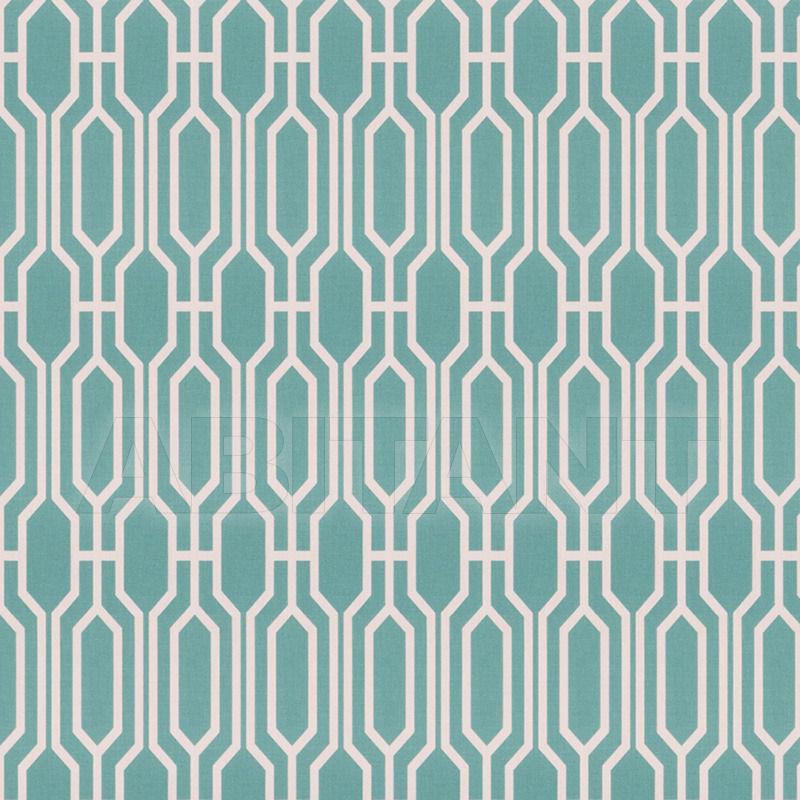 Купить Интерьерная ткань Blues Travelers Teal Fabricut Modern Nuances 4639001