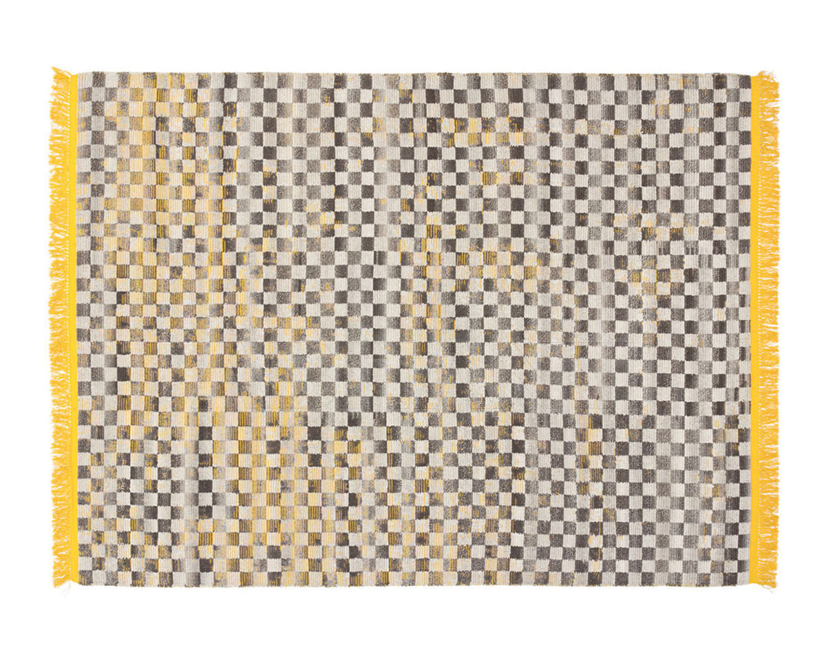 Купить Ковер современный oldie damier СС-tapis oldie OC.DAM yellow
