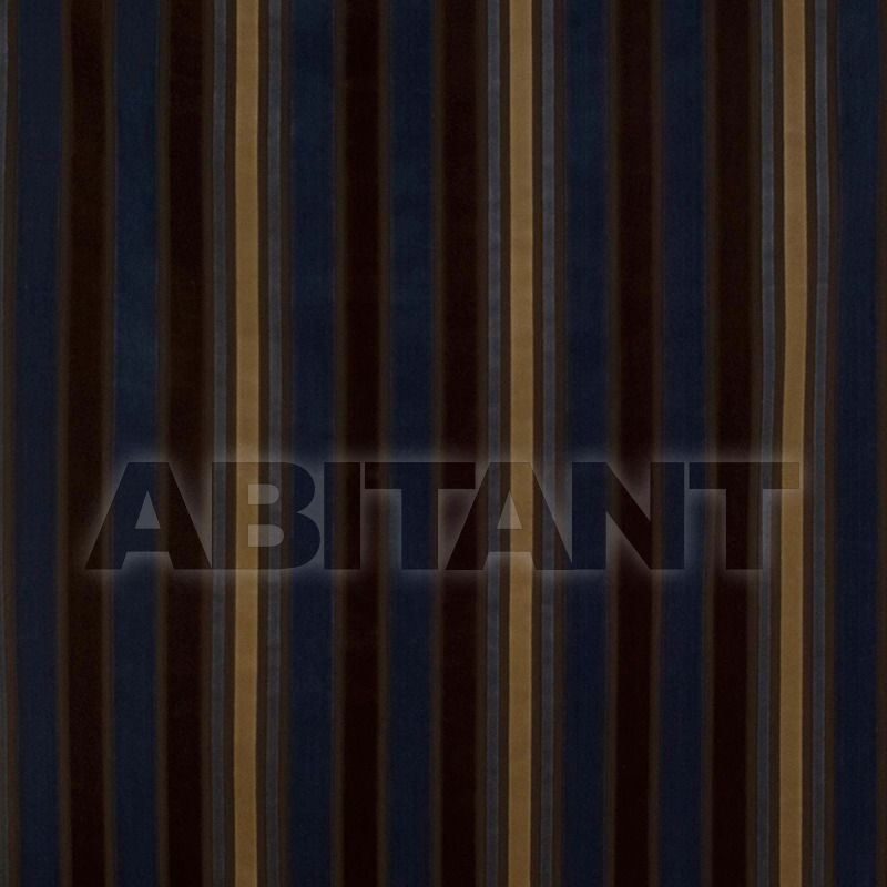 Купить Обивочная ткань Lineal Azul/Tabaco Gastón y Daniela Other Collections GDT 3947 005