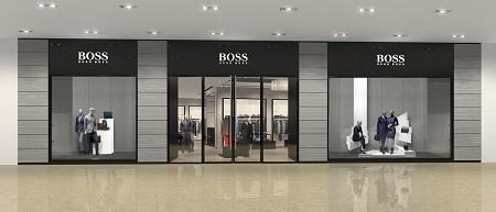 hugo boss бутик